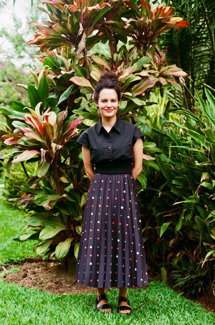 """Everything begins with self-esteem and love."" Designer Gabriela Sanchez y Sanchez de la Barquera first visited City of ..."