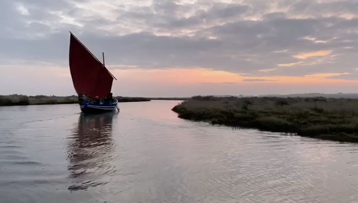 The Coastal Exploration Company take visitors out into Norfolk's maze-like mudflats in skippered traditional wooden fishing ...