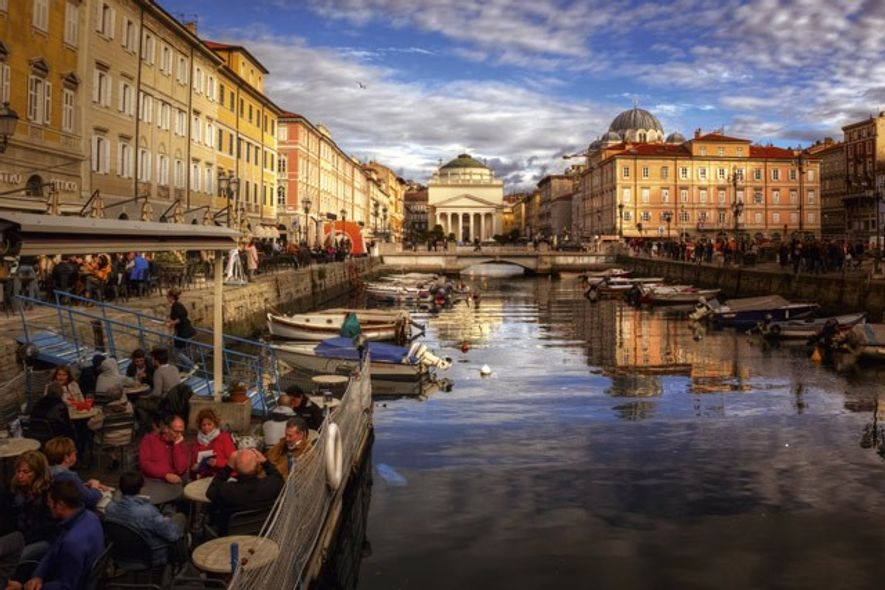 The canal, Trieste