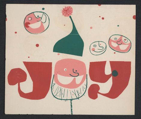 Santa, Snow, and Brillo? Christmas greetings from 20th-century artists