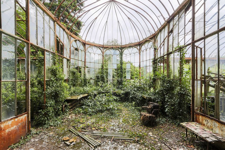 See Nature Reclaim These Abandoned Places