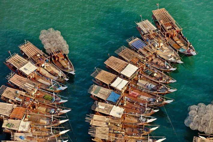 Fishing boats, Zayed Port.