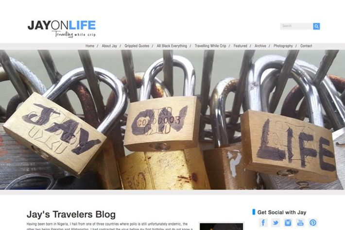 Jayonlife.com is a blog about travelling with disabilities.