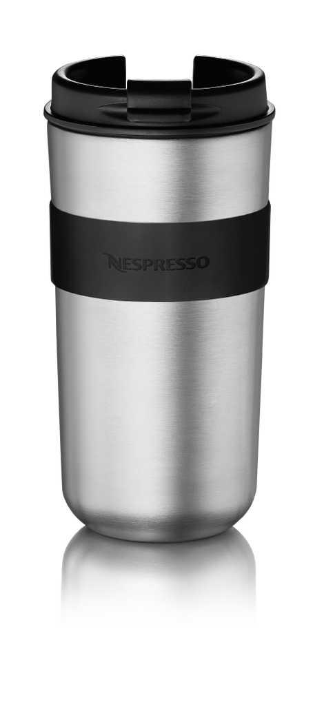 Nespresso Vertuo travel mug.