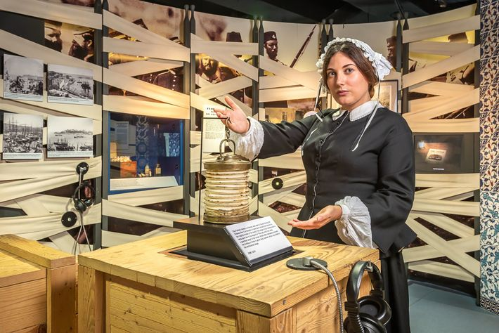 The Florence Nightingale Museum explores the life and pioneering career of the Lady with the Lamp.