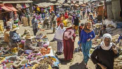 City life: Addis Ababa