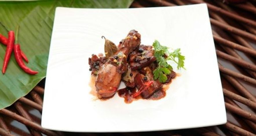 Adobo, a traditional Filipino dish