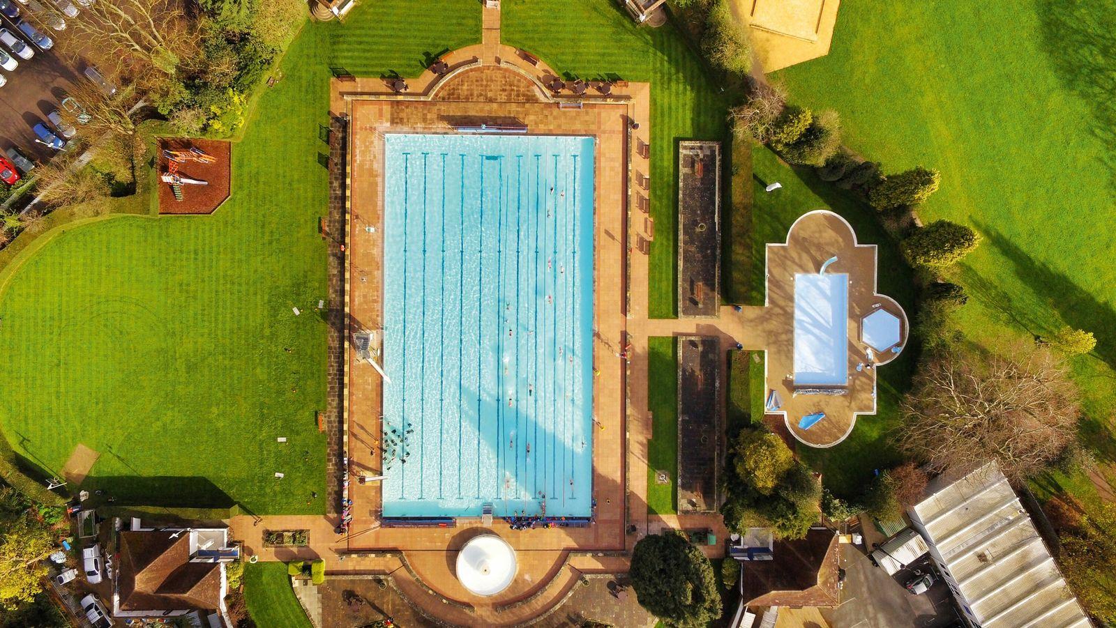 Sandford Parks Lido, Cheltenham