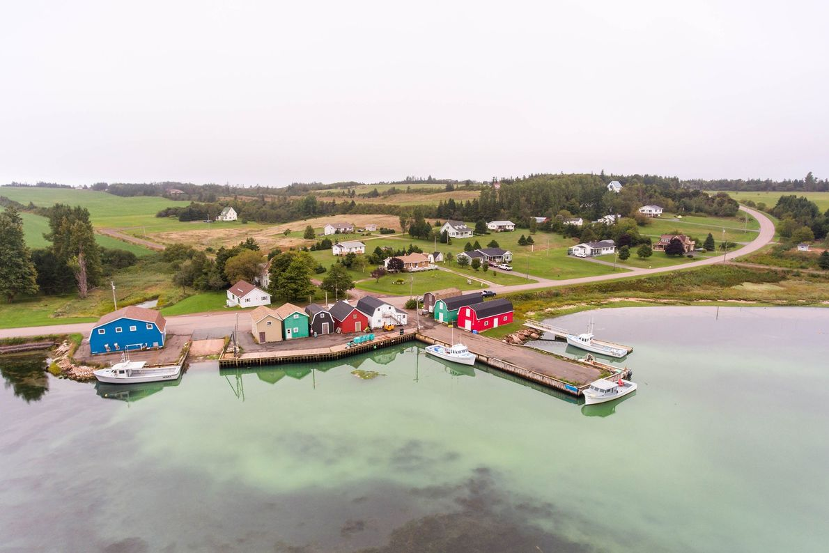 French River is a tiny, charming fishing village on Prince Edward Island. The community sits between ...