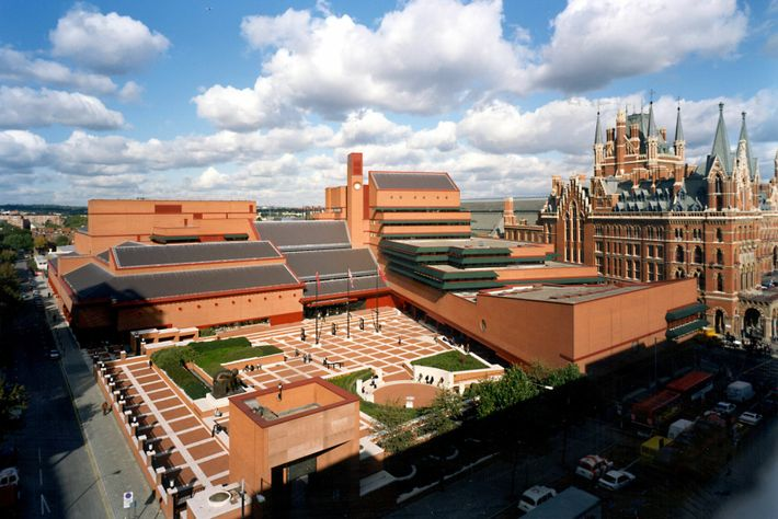 There are almost 14 million books to admire in the British Library, the world's largest library.
