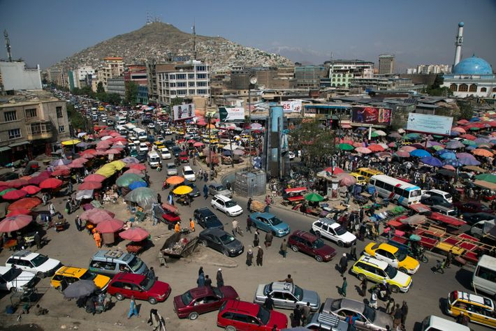 Kabul. Afghanistan. April 2021