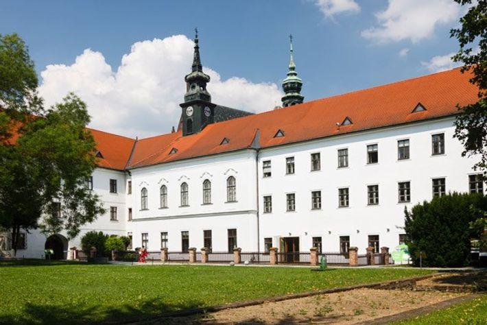 St Thomas's Abbey, Brno, Czech Republic