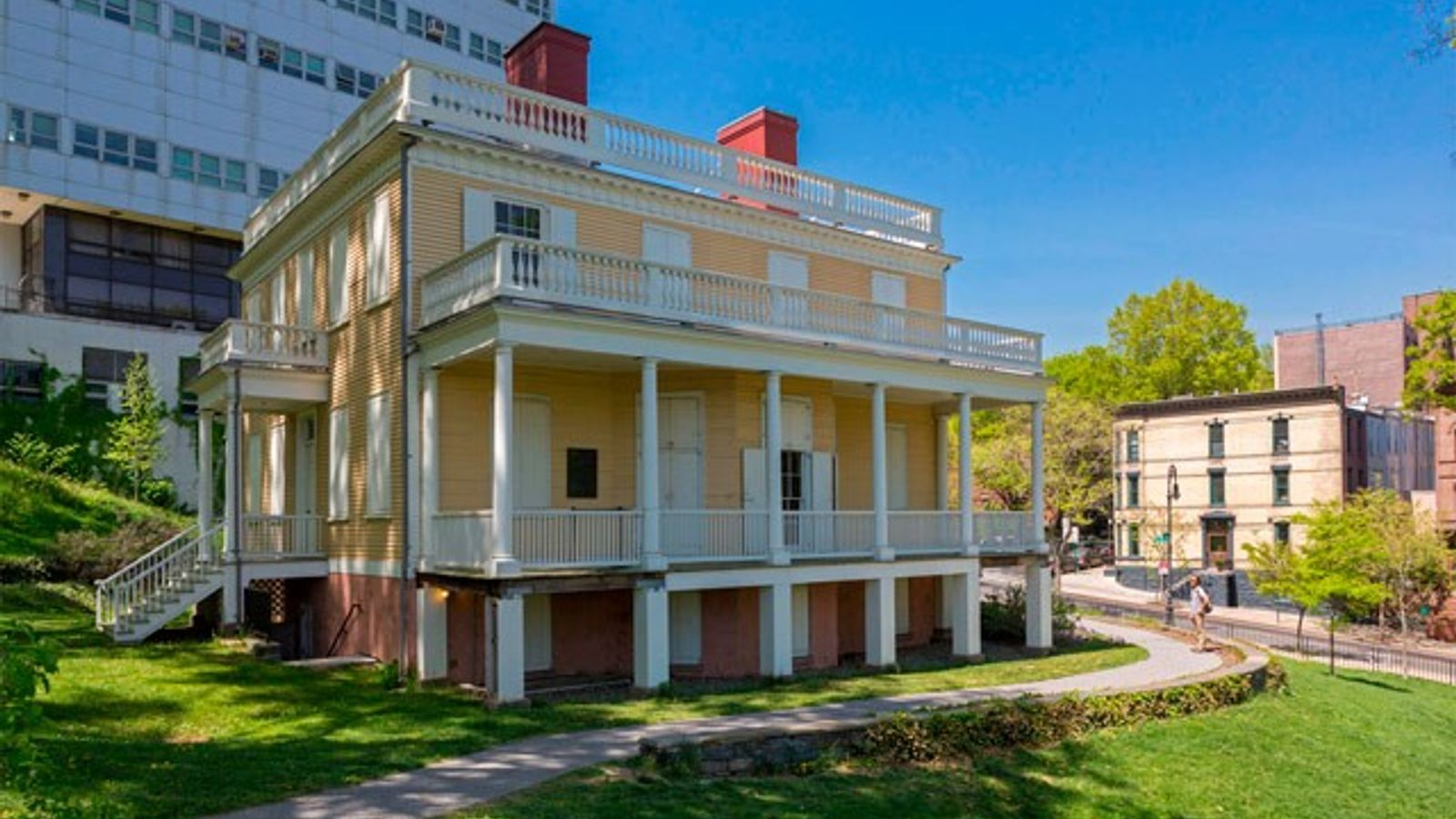 Alexander Hamilton's The Grange.