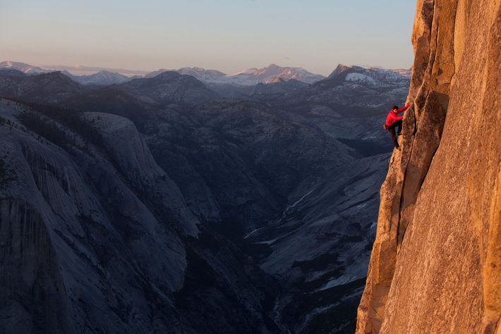 Honnold's first-ever free solo of the Regular Northwest Face of Half Dome astonished the climbing world ...