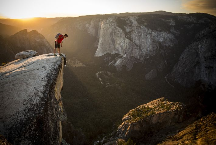 Honnold has been practicing for the daring climb for more than a year, training on routes ...