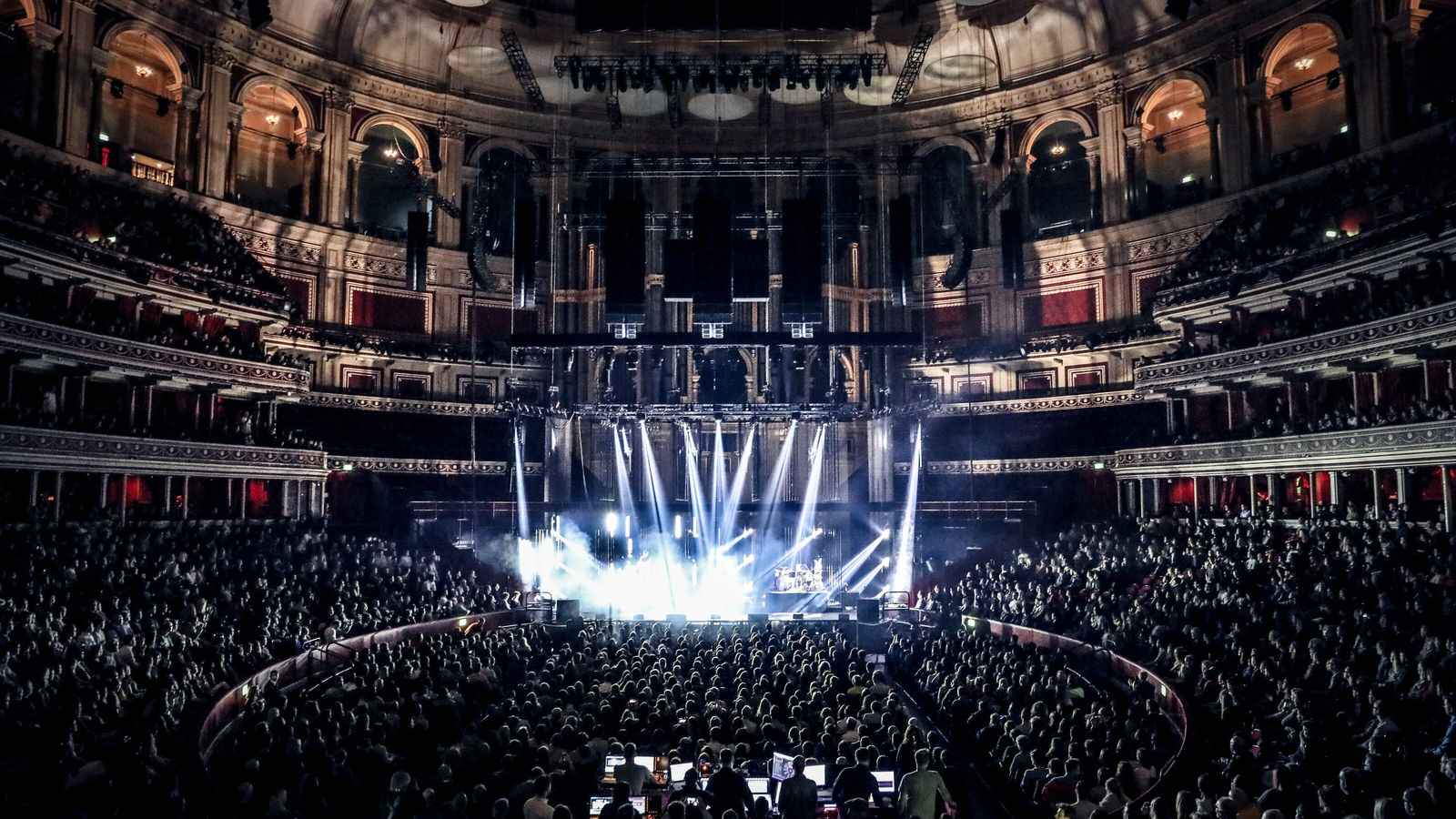 Rock band alt-J perform at the Royal Albert Hall in October 2019. The iconic venue celebrates ...