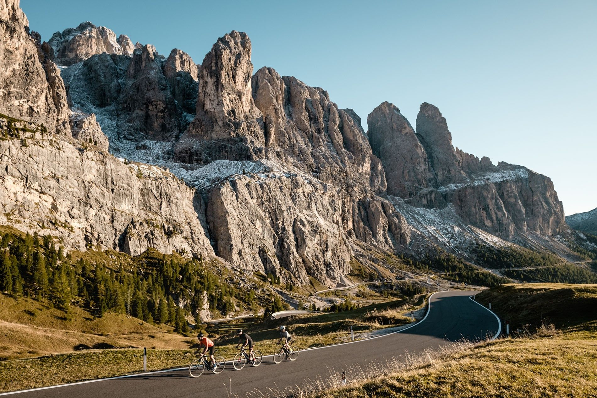 Threading your way through the Dolomites in Alta Badia is one of cycling's biggest thrills.