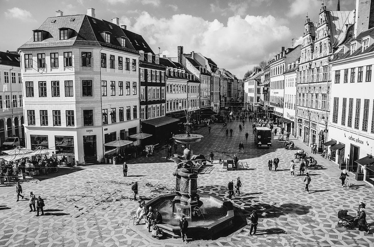 From Rådhuspladsen you can head to Strøget Street, one of the longest pedestrian shopping streets in ...