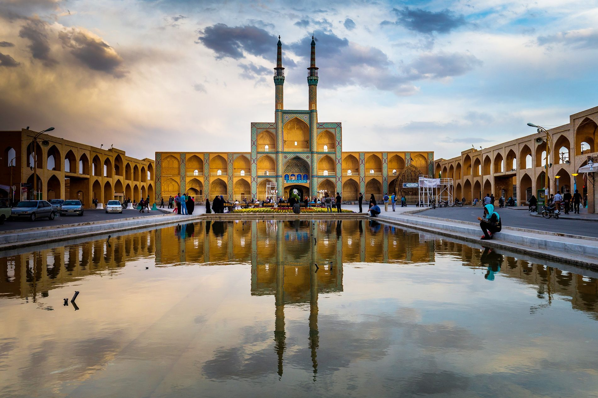 The Iranian city of Yazd, home to more than a half million people, was listed as ...