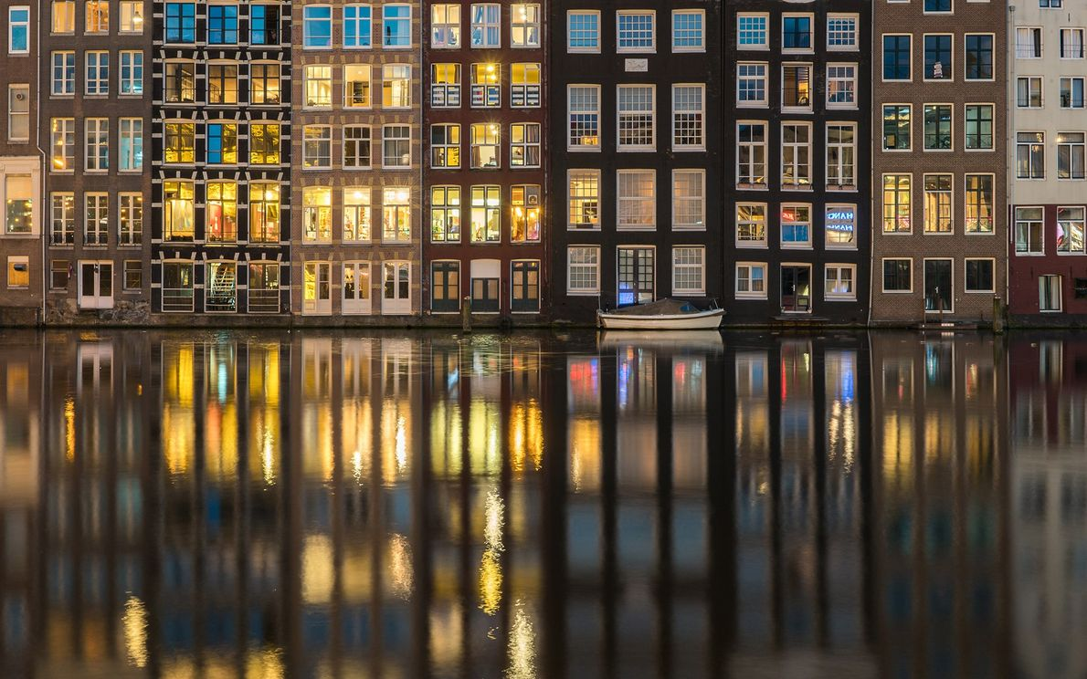 During a short stay in Amsterdam, Lau took himself on a photo tour of the city—one ...