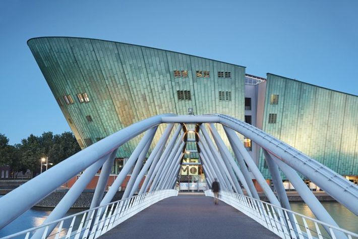 Exterior of Science Center NEMO. Image: Richard James Taylor