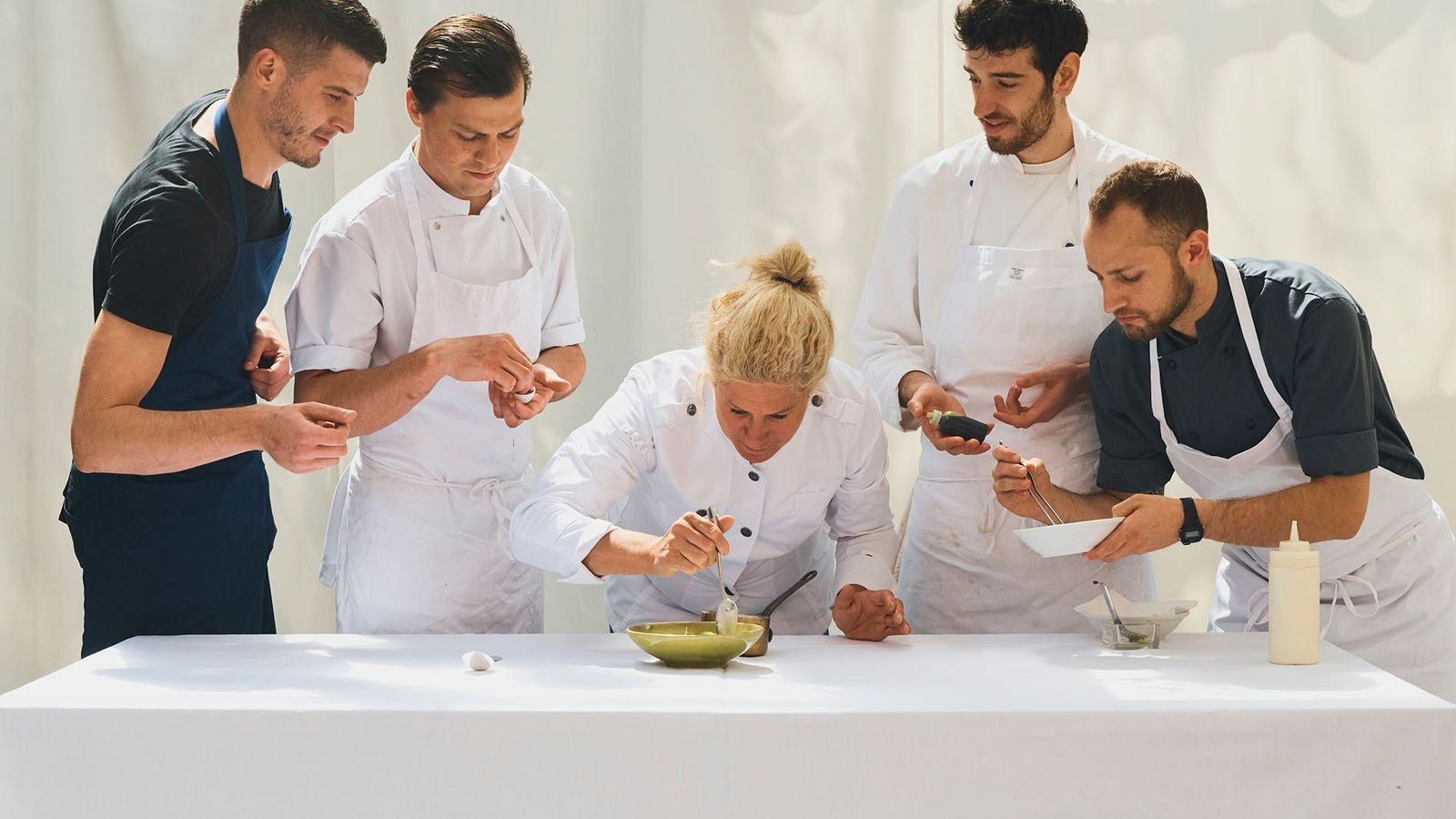 Chef Ana Roš and her team.