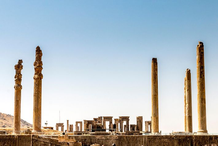 Ancient city of Persepolis in Iran near Shiraz