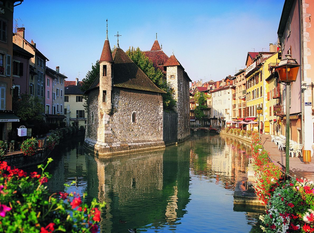 Annecy in France has bucketloads of ancient charm.