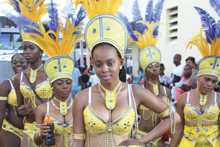 Antigua Carnival. Image: Beautiful People Mas band