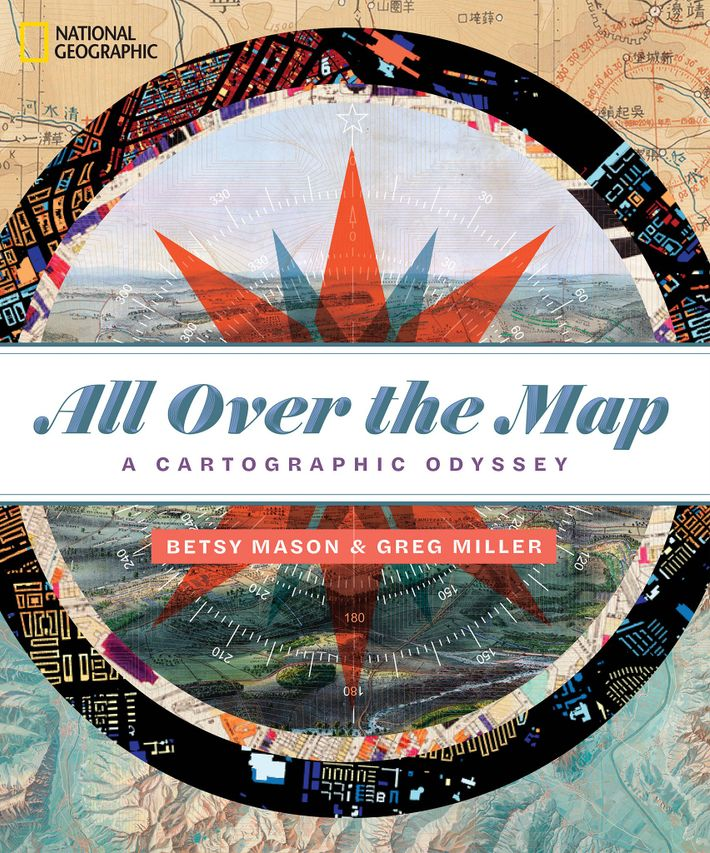 Cover of All Over the Map