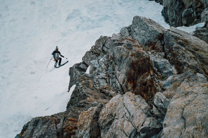 Crossing below the walls of unstable hanging glaciers that cling to K2 was one of the ...