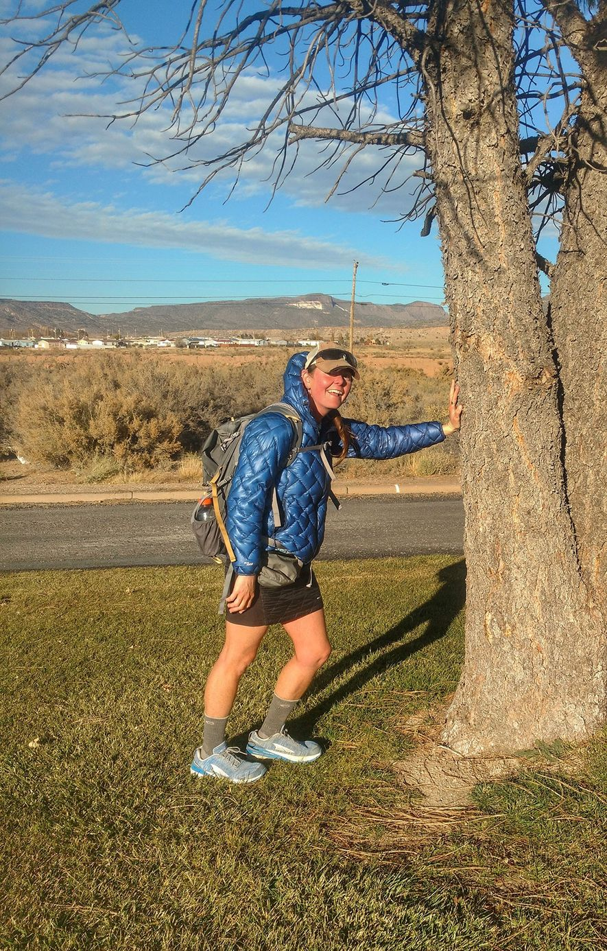 Upon completing the final section of the Continental Divide Trail in New Mexico, on November 8, ...
