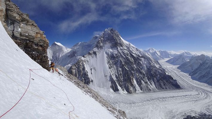 Before the rescue attempt, the Polish-led team had made significant progress on K2, fixing ropes and ...