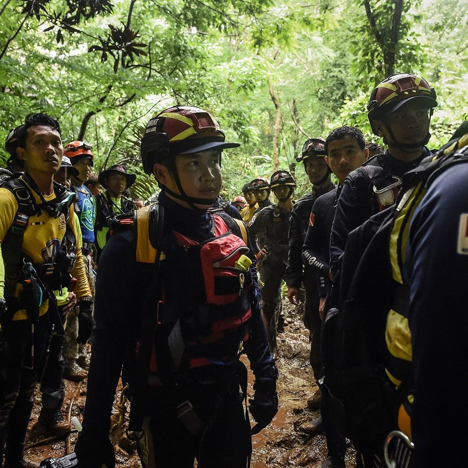 The untold story of the daring cave divers who saved the Thai soccer team