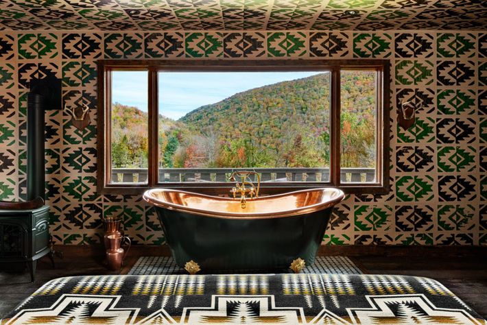 Nestled in upstate New York's Catskill Mountains, Urban Cowboy Lodge is a gateway to the great outdoors, ...