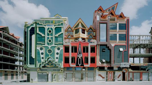 These Vibrant, Futuristic Mansions Are Popping Up in Bolivia