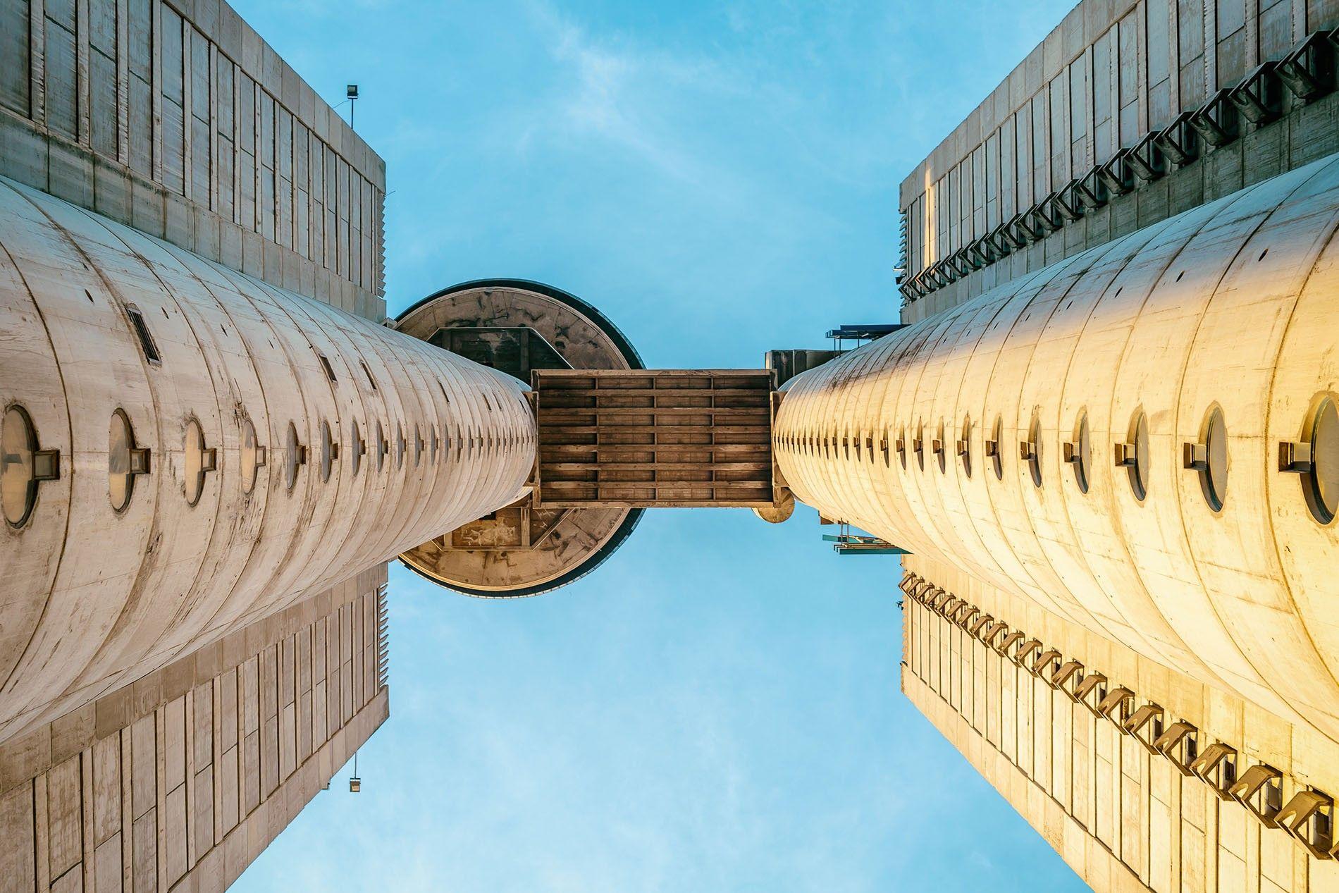 Belgrade's Genex Tower