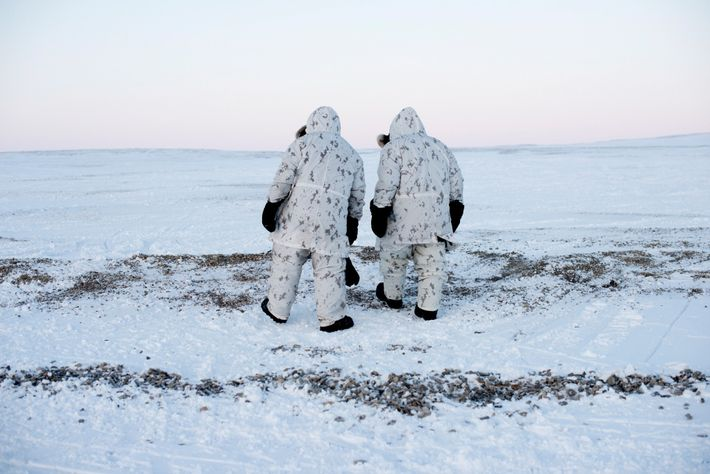 'Keep moving' is a key principle in Arctic military operations, when anything—or anyone—standing still long in ...