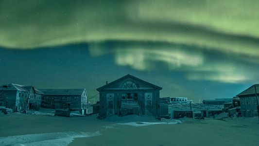 In the polar night of Russia's far north, legends and lives are frozen in time