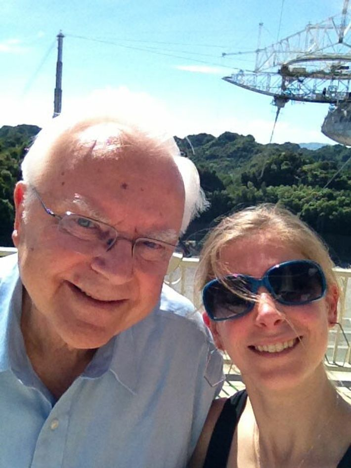 In 2013, the Arecibo Observatory celebrated its 50th anniversary. Frank and Nadia Drake were there for ...
