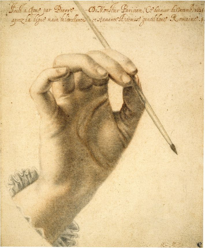 At the height of her career, Gentileschi was honored by artists and writers. The French portraitist ...