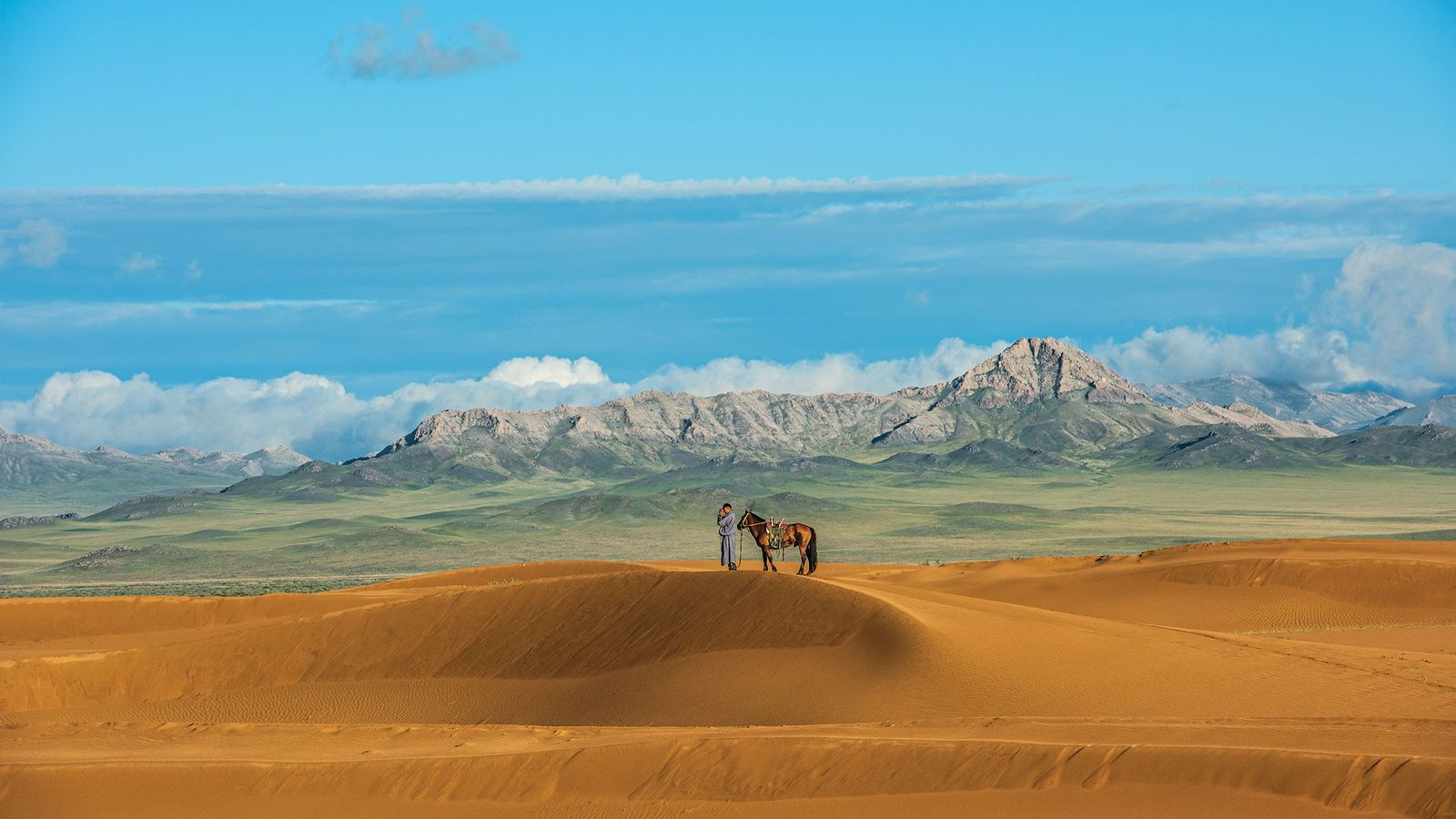 """Nat Geo Expeditions' """"Mongolian Horse Trek"""" transports you right into the land of Genghis Khan, where ..."""