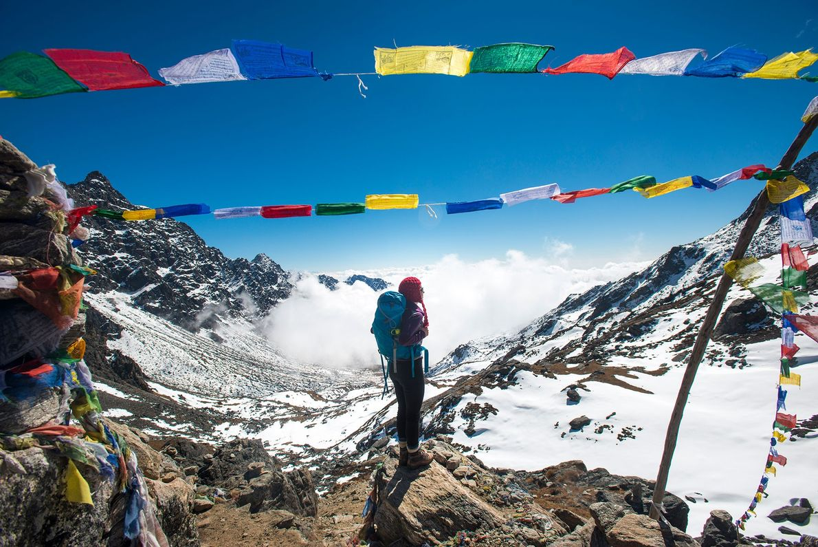 Nepal, the trekking capital of the world, is back in business after a devastating earthquake in ...