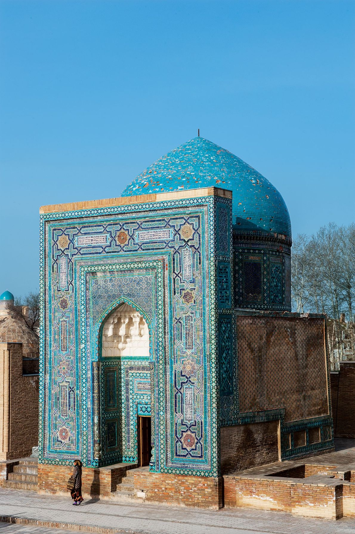 """Surrounded by other """"-stans,"""" landlocked Uzbekistan is home to the Silk Road cities Samarkand and Bukhara. ..."""