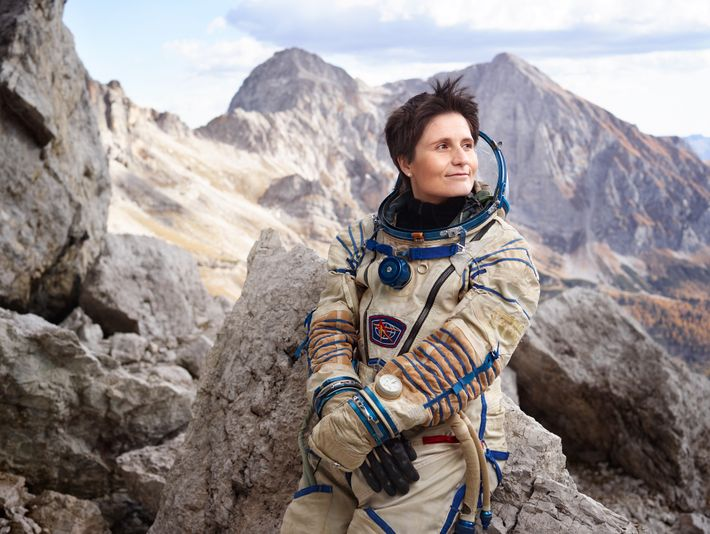 The Italian astronaut Samantha Cristoforetti holds the record for the second longest uninterrupted spaceflight by a ...