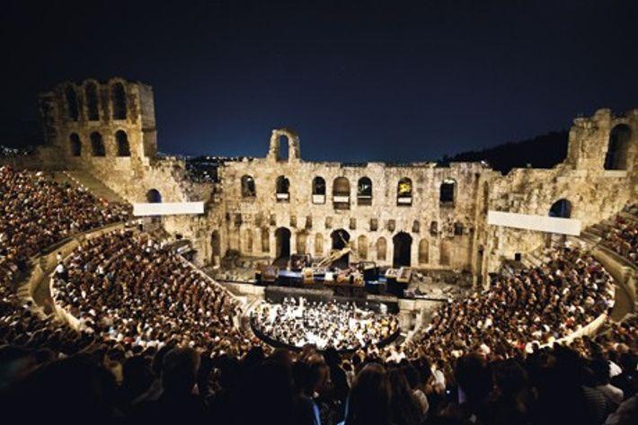 Odeon Theatre of Herod Atticus. Credit: Region of Attica