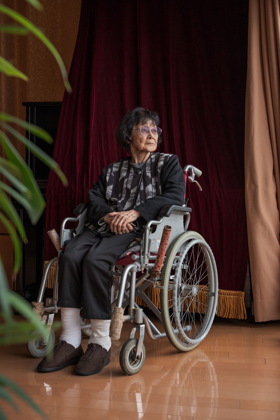 Naoe Takeshima was a nursing student when the bomb hit. For months she spent countless hours ...