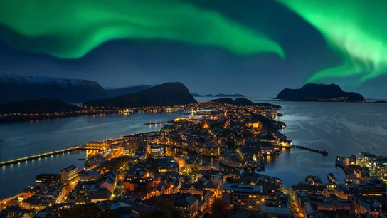 Norway's Northern Lights are among some of the best in the hemisphere.