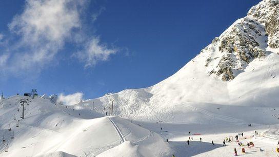 Innsbruck ski slopes, Austria