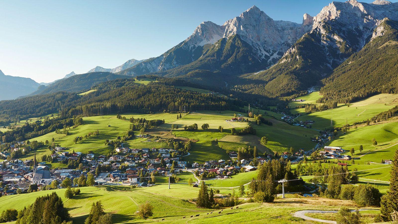 The village of Maria Alm, Hochkönig region